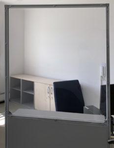Thekenaufsatz - Thekenaufsteller - Schutz